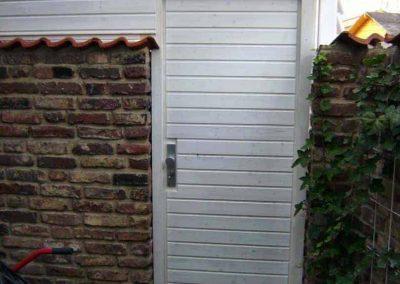Carport-aus-Fichte-Tür