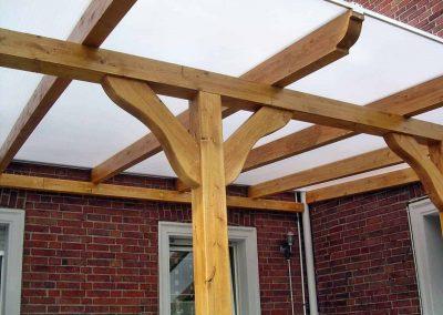 Terrassenüberdachung-Innenansicht